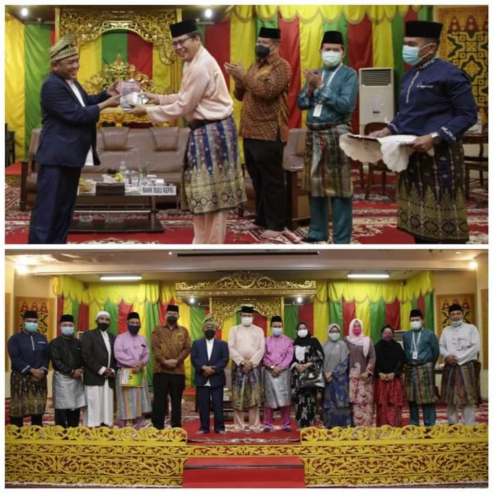 Gus Syauqi, Putra Wapres Ma'ruf Amin Silaturahmi ke LAM Riau Serta Bincang Potensi Wisata Halal