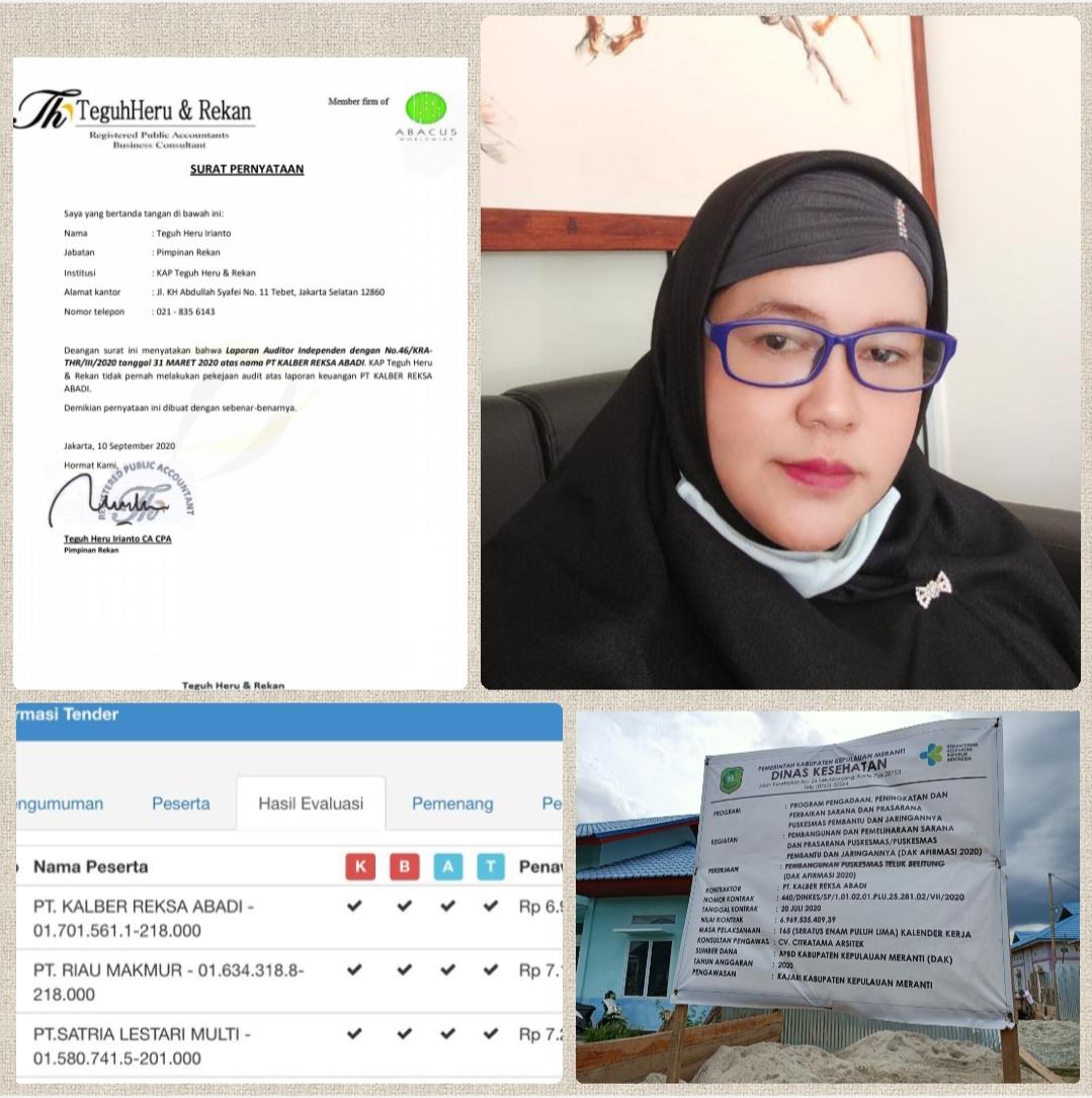 Berbuntut Panjang, Pengurus Proyek Puskesmas Teluk Belitung Akan Dilaporkan Kepihak Berwajib