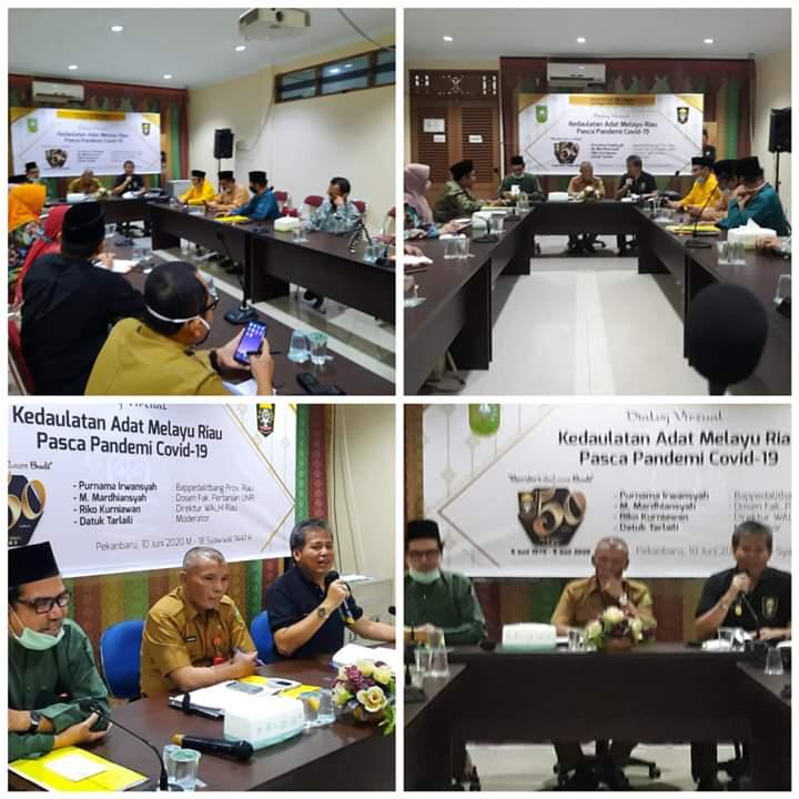 LAM Riau  bersama Disdik  Bahas Mulok BMR Guna Mewariskan Budaya Melayu kepada Generasi Penerus