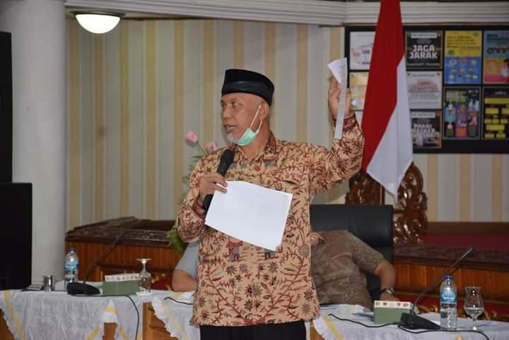 Gubernur Sumbar Tegaskan Tidak ada Penghentian Pembangunan Tol Padang-Pekanbaru