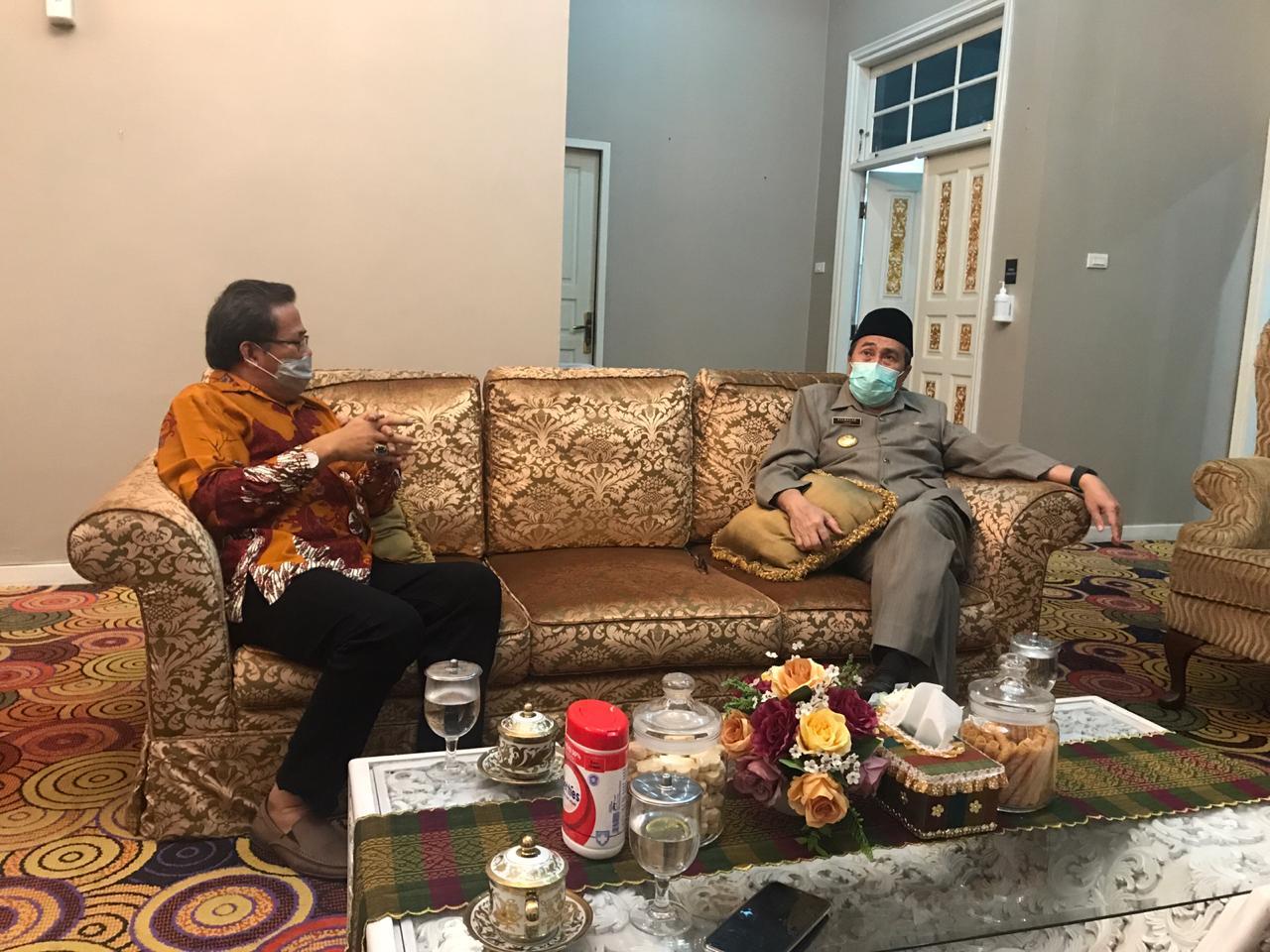 LAM Riau Usulkan Nama Ruas Tol Gunakan Tokoh Tempatan Kepada Gubernur Riau