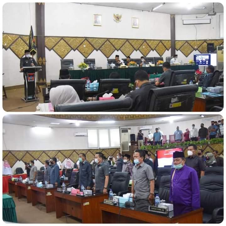 DPRD Kota Padang Gelar Paripurna Bahas Pemberhentian dan Pengangkatan Wali Kota Padang