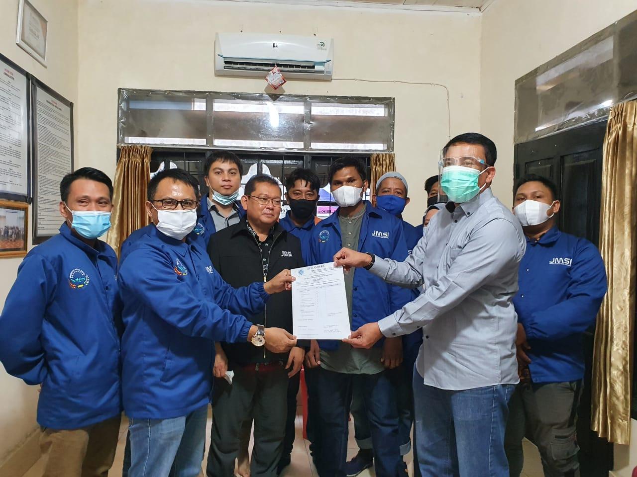 JMSI Sultra Sah Terverifikasi Administrasi dan Faktual oleh Dewan Pers