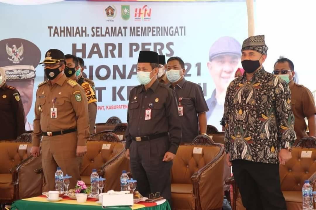 PWI Riau Kampanyekan Rupat Menjadi Destinasi Wisata Unggulan di HPN 2021