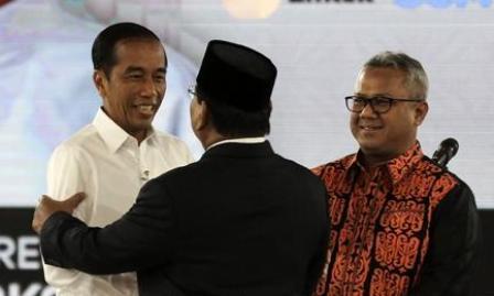 Debat Capres Jokowi dan Prabowo Nangkring di Tranding Twitter