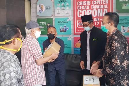 PWI dan Dompet Dhuafa Bantu Wartawan Terdampak Pandemi COVID-19
