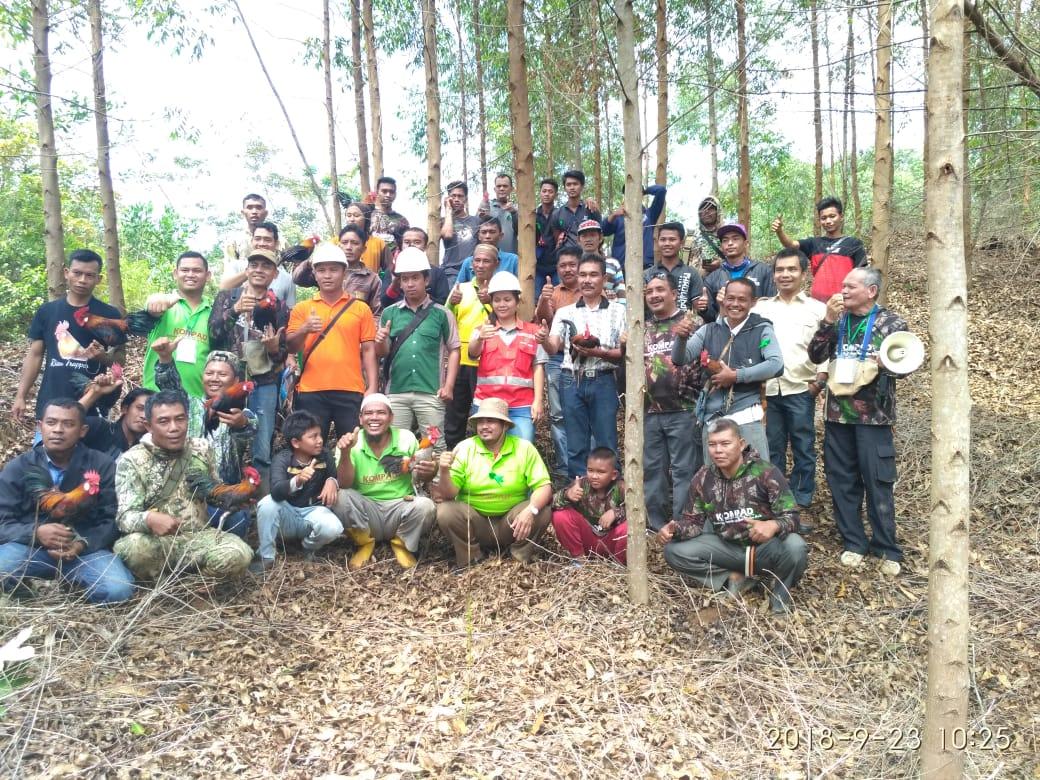 KOMPAD Rohul Gelar Mikat Bersama Ke III di PT Sumatera Silva Lestari