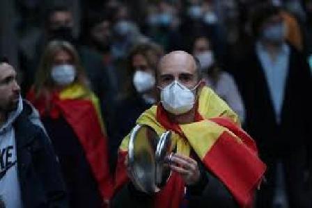 Pemerintah Spanyol Bakal Perpanjang Darurat Covid-19 ke Lima Kali