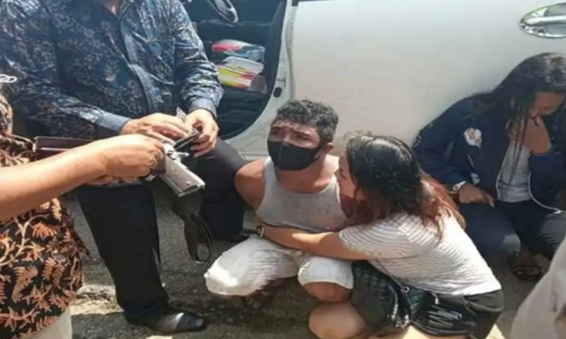 Razia Masker, Dua Pengedar Narkotiba Di Tangkap