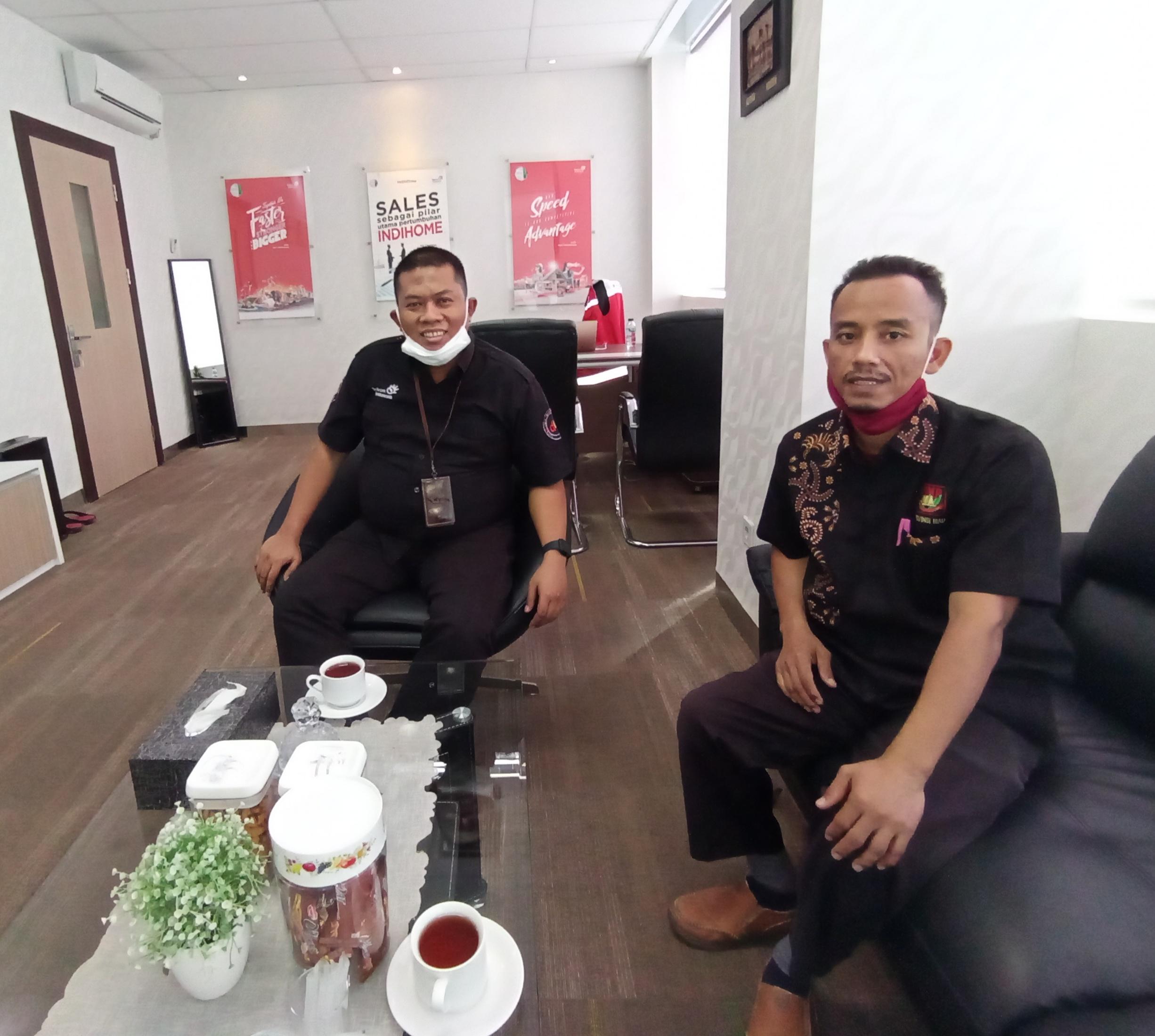 GM Wilayah Telkom Ridar Dukung Forum Juruwarta Melayu Riau (FJMR) Bangkitkan Khazanah Melayu