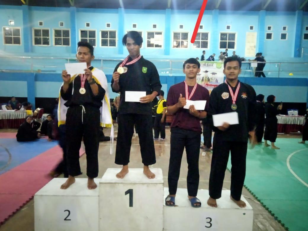 Pesilat Persinas ASAD kota Padang Raih Mendali Perunggu di Kejuaraan STIE-SAK Kerinci Cup I 2021