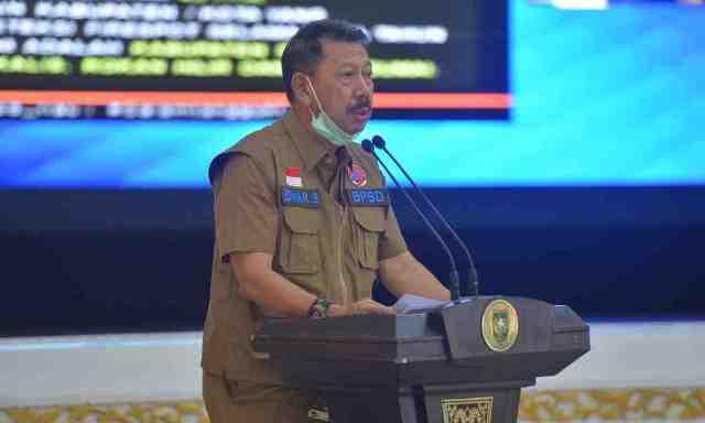 Guna Cegah Karhutla di Riau BPBD Minta Bantuan Helikopter dan TMC