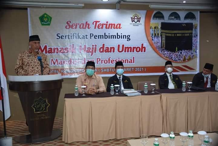 Pemprov Sumbar Harapkan Kerjasama Sister City Dengan Arab Saudi Terkait Pelaksanaan Haji dan Umroh