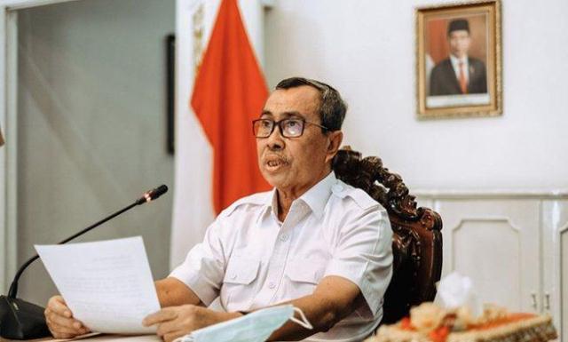 Pasca Sembuh dari Covid-19, Gubernur Riau Isolasi Mandiri Untuk Tahap Pemulihan