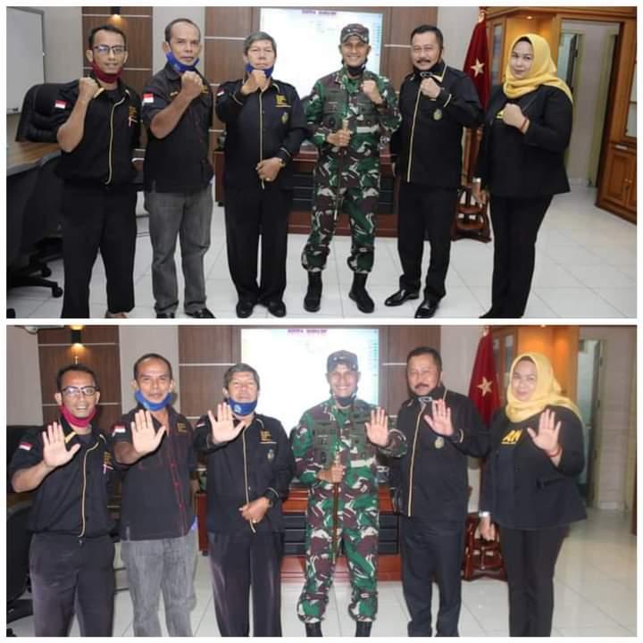 DPD Granat Riau Audiensi Bersama Danrem 031/WB, M. Syech Ismed: TNI Berkewajiban Berantas Narkoba