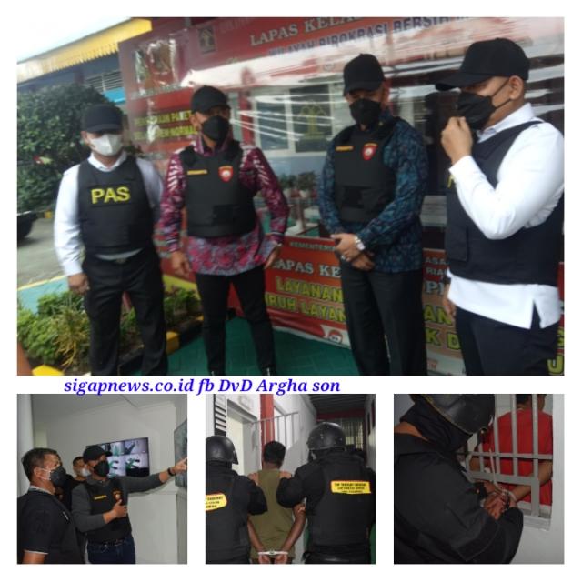 Napi Pengendali Narkoba di Lapas Resmi Isi BPN, Kanwil Kemenkumham Riau Ajak BNNP Tinjau Bersama