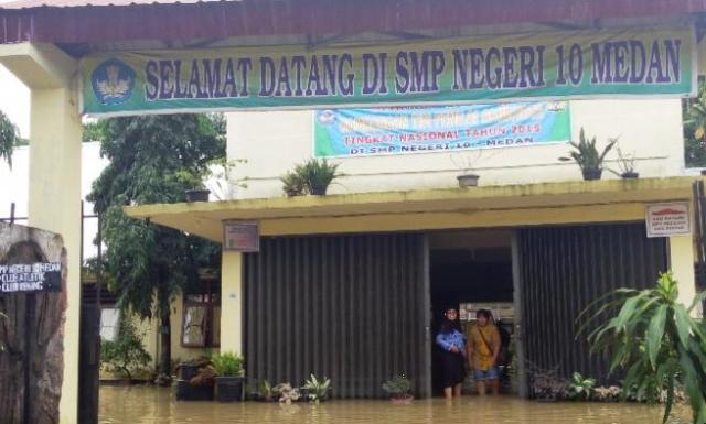 SMP Negeri di Medan Besok Belum Terapkan Belajar Tatap Muka