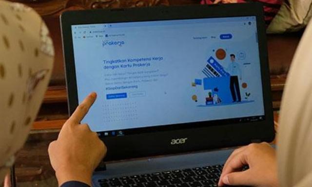 Waspada!...Beredar Situs Palsu Kartu Prakerja, Diduga Mencuri Data Pribadi
