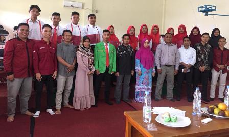 Dekan Universitas Pasir Pengaraian Buka Pengenalan Kehidupan Kampus ke Mahasiswa Baru