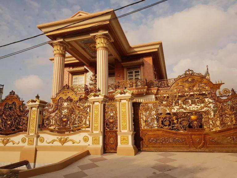 Miris! Rumah Mewah Bak Istana Raja DiDuga Milik Pejabat Pemko Dumai Di Pekanbaru