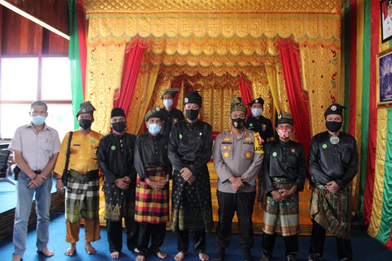Muzamil: LAMR Dukung Penuh Polres Dalam Penegakan Hukum di Meranti