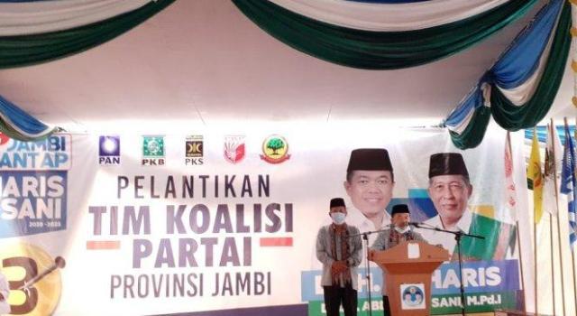 H. Bakri Ketua Koalisi Haris-Sani Pilgub Jambi, Jika Semua Bergerak, Selesai Sudah