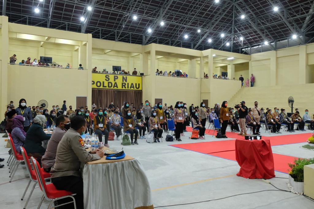 Kapolda Riau: Saya Buktikan Seleksi Bintara Polri 2020 Transparan, Tanpa Sogok Menyogok