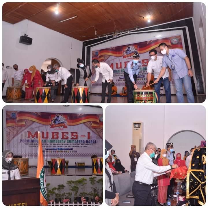 Perhimpunan Homestay Sumatera Barat Gelar Mubes I di Sawahlunto