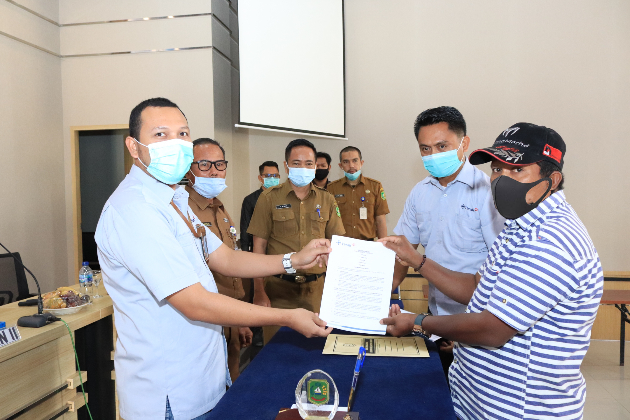 Ingin UMKM Di Kabupaten Meranti Berkembang, PT Timah Salurkan Dana Bergulir Program Kemitraan