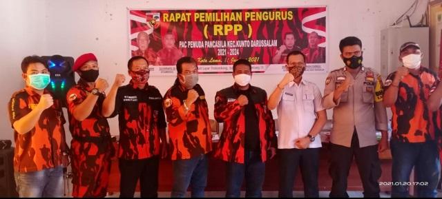 Syahmadi Malau Kukuhkan Tengku Dasrizal Sebagai Ketua PAC PP Kunto Darussalam