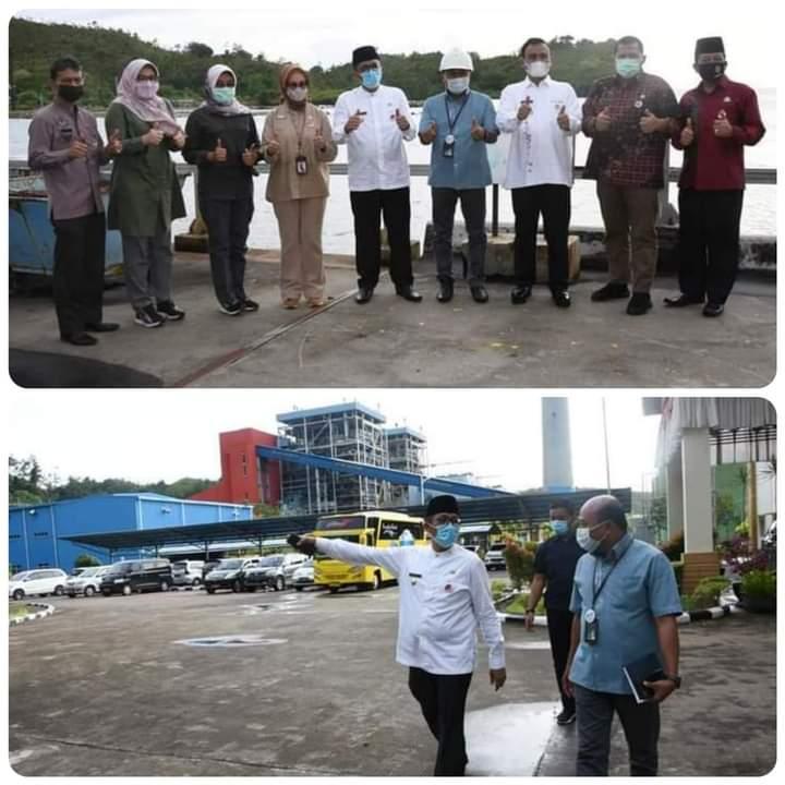 Pastikan Kesiapan Energi Untuk Investor, Wawako Padang Kunjungi PLTU Teluk Sirih