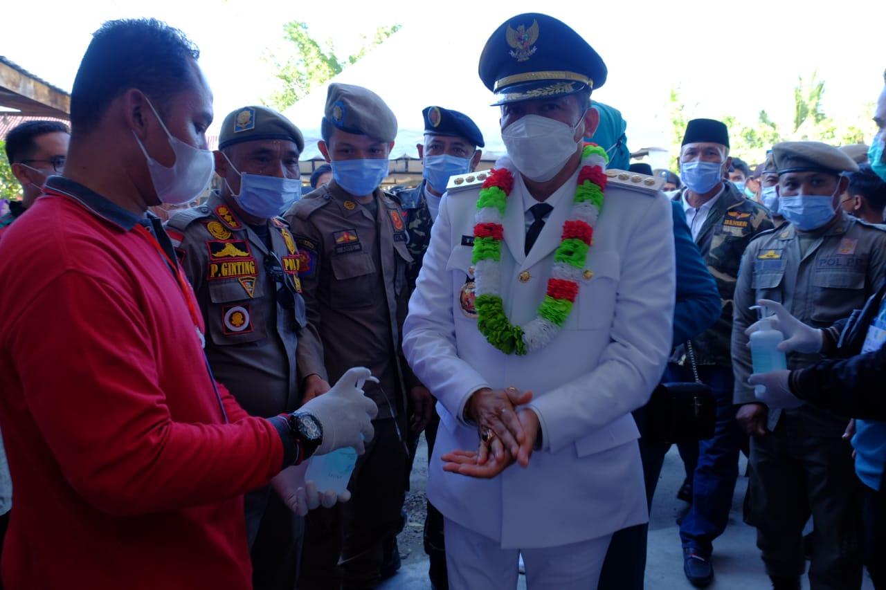Bupati dan Wakil Bupati Meranti HM Adil-H Asmar Disambut Sekdakab dan LAMR Meranti