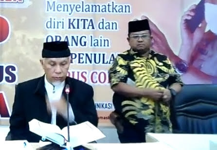Wako Padang Mahyeldi Ansharullah,jiwa Dan Batin Menjadi Tenang Bila Pemimpin Mencintai Al Qur'an