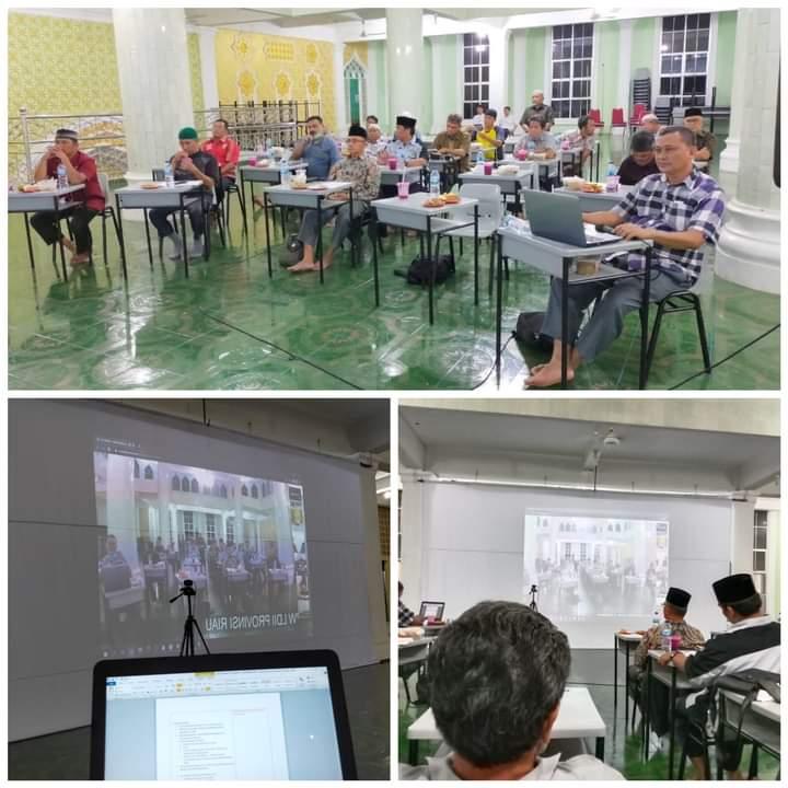 LDII Riau Gelar Musyawarah Pleno Diikuti 12 DPD Via Daring dan Senkom Digital Communication