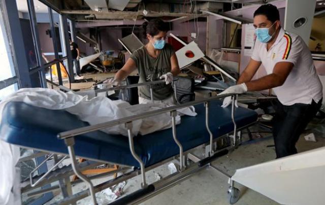 Ledakan di Beirut Korban Meninggal Capai 135 Orang