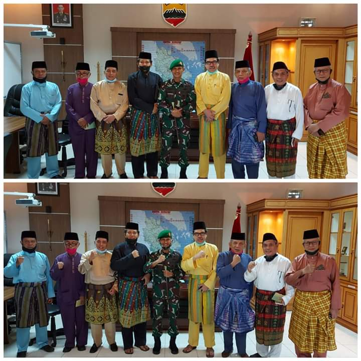 LAM Riau dan Korem 031/WB Sepakat Bersinergi Bangun Riau
