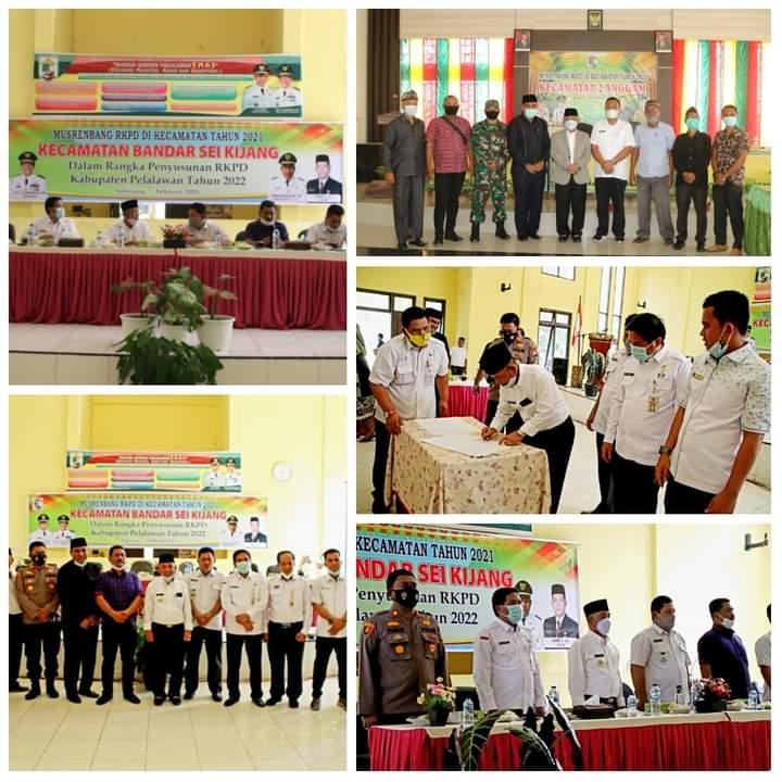Bupati HM Harris Buka Pelaksanaan Musrenbang di Tiga Kecamatan di Pelalawan