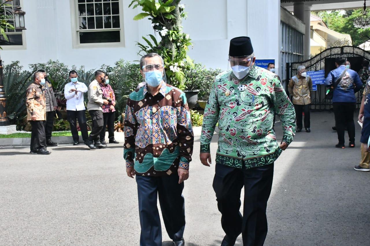 Presiden Jokowi Puji Gubernur Riau Tetapkan Status Siaga Darurat Karhutla Lebih Awal