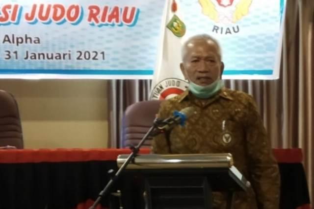 Margas Chan Terpilih Aklamasi Sebagai Ketum Judo Prov. Riau
