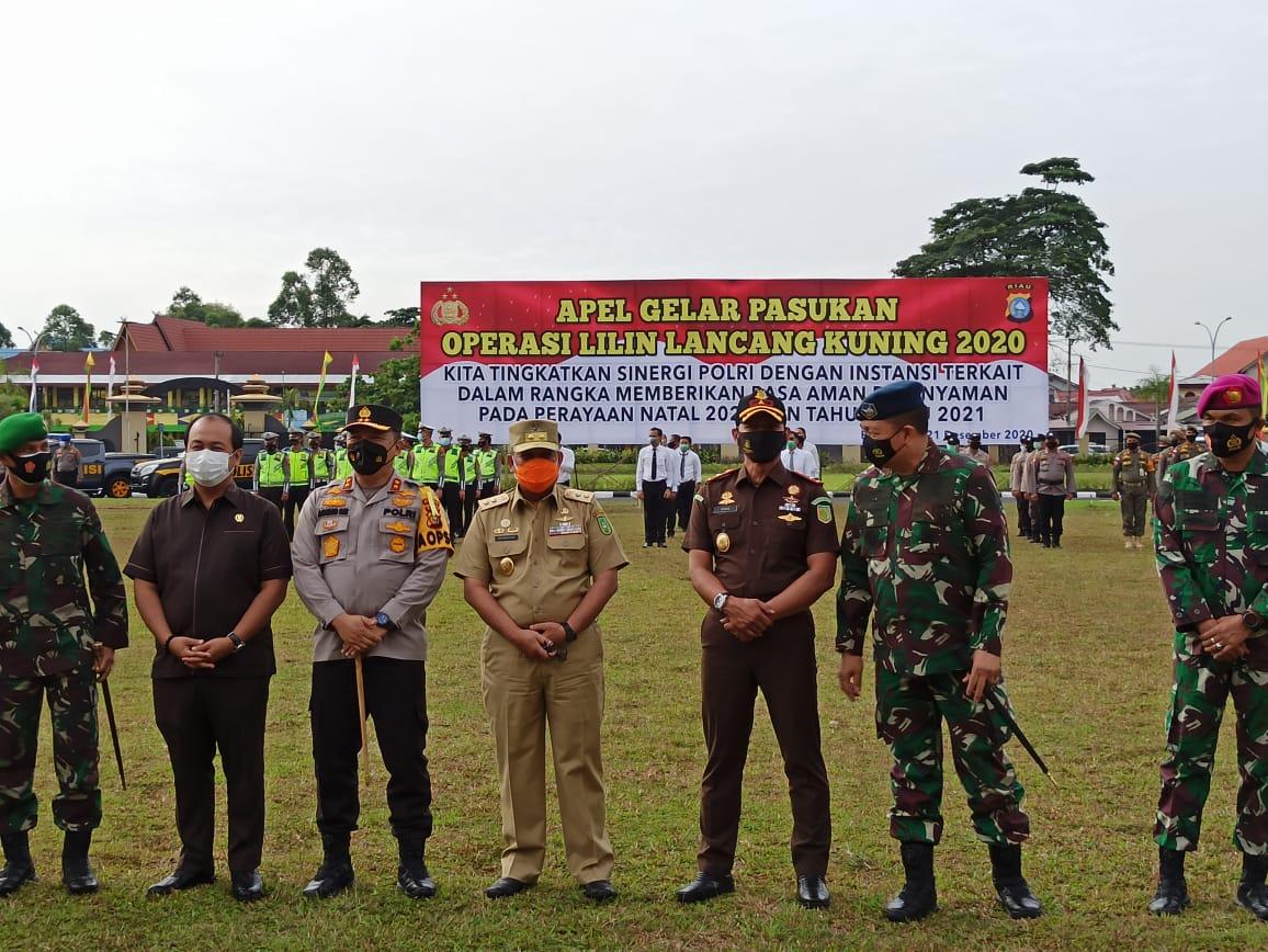 Kapolda Riau: Operasi Lilin Lancang Kuning Bertujuan Berikan Rasa Aman Saat Perayaan Natal