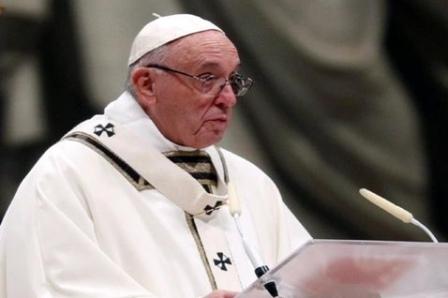 Paus Serukan Semua Penganut Agama Bersatu Berdoa dan Berpuasa Serentak Pada 14 Mei 2020