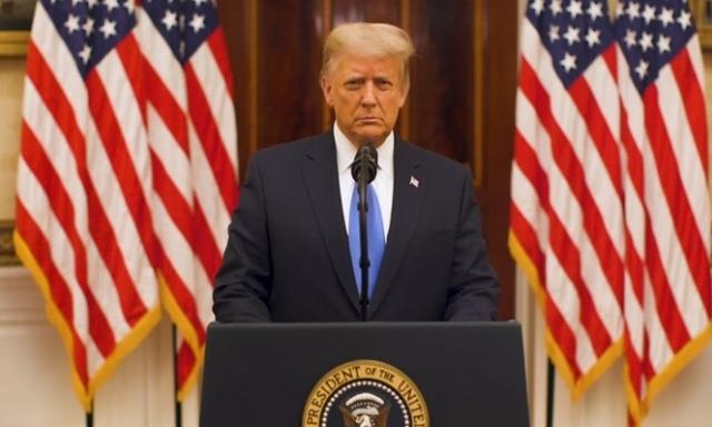 Pidato Perpisahan Donald Trump:'Saya Ingin Anda Tahu, Gerakan Kami Baru Dimulai'