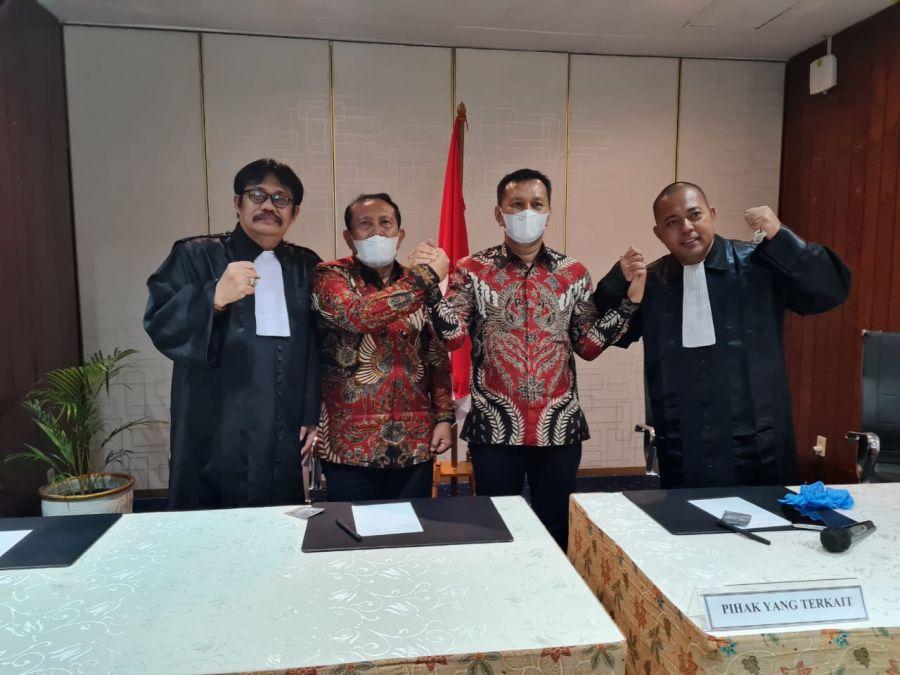 Akhirnya Paslon No. Urut 2 Sukiman dan Indra Gunawan terpilih jadi Bupati dan Wabup Rohul 2021/2024