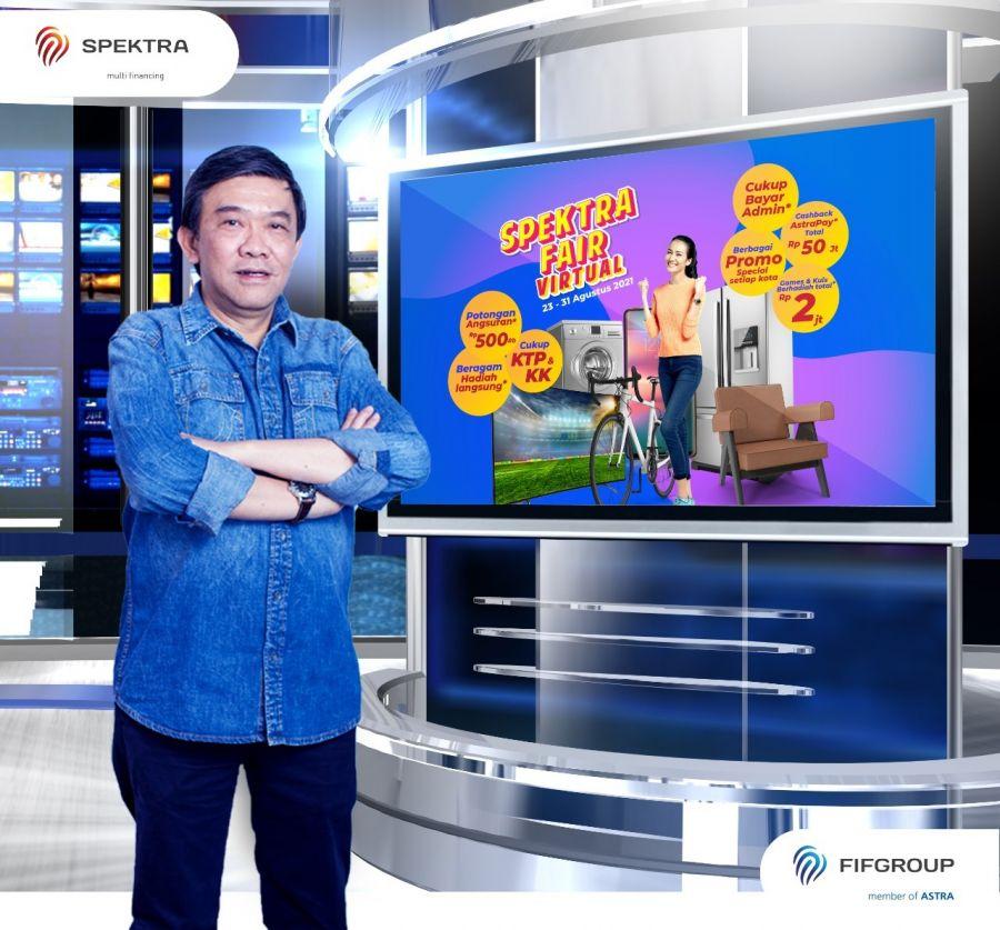 Bagi-Bagi Cashback AstraPay dengan Total Rp 50 juta, SPEKTRA FAIR Hadir di 69 Kota di Indonesia