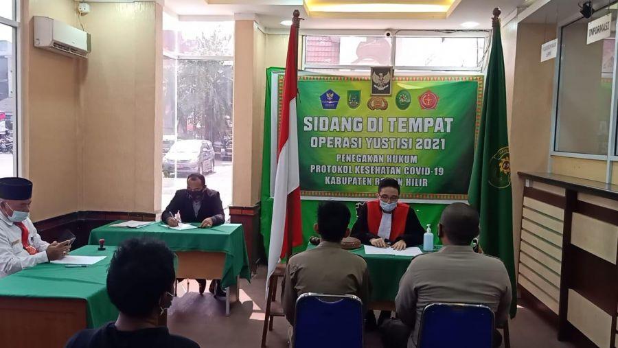 Dalam Seminggu, Operasi Yustisi Menjaring 686 Pelanggar Prokes di Polres Jajaran