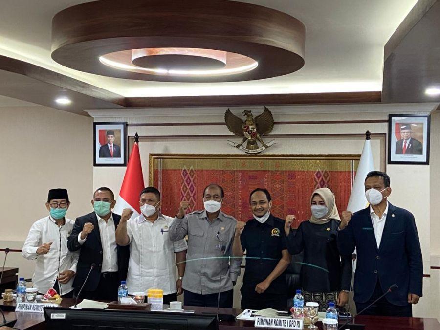 DPD RI Bentuk Kaukus Daerah Kepulauan Dalam Rangka Percepatan Pembahasan RUU Daerah Kepulauan