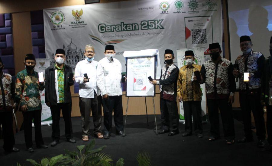 Gerakan 25K Untuk Masjid/Musholla se-Denpasar - Bali