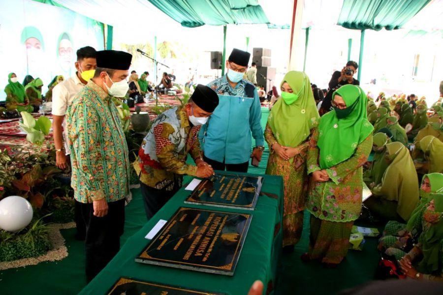 Harlah Muslimat NU  Ke -75  Kabupaten Pelalawan Di Buka Oleh Gubernur Riau