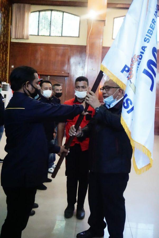 JMSI Dumai, Pengcab Pertama di Indonesia Dilantik Dihadiri Sekjend Mahmud Marhaba