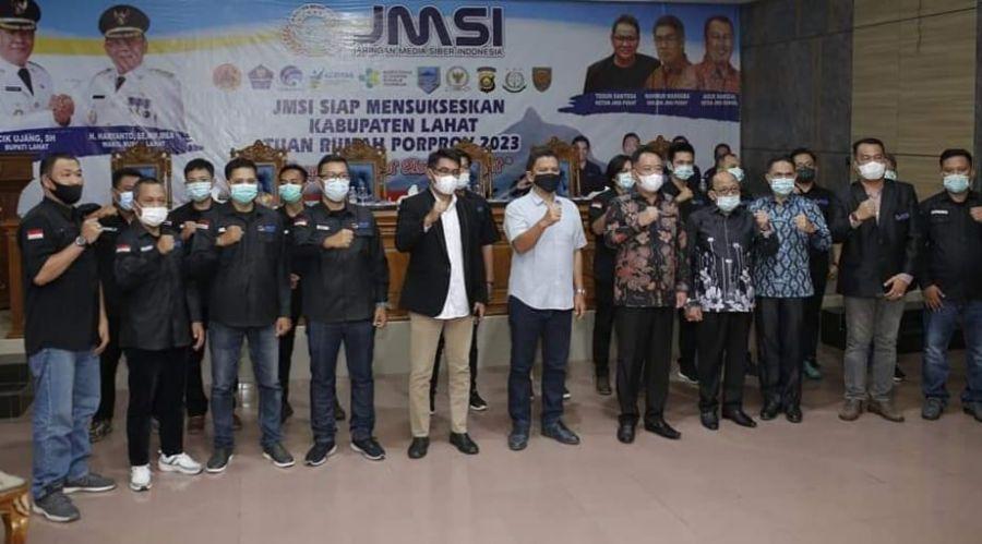 JMSI Lahat akan Programkan Terkait Pembangunan Kabupaten Lahat Bersama Pemkab